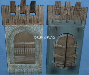 CASTLE-GATE-GATES-SPARE-PARTS-PLAY-ALONG-HELMS-DEEP-PARTS-LOTR-AOME-DOORS