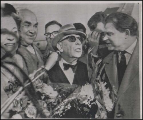 Igor STRAVINSKY (Composer): Original 1962 Photo in Moscow