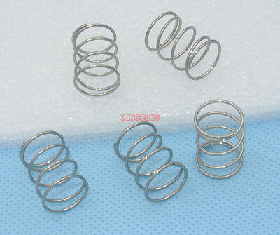 10pcs Stainless Steel Compression Spring 1*15*20