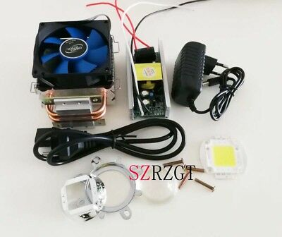 100w 100watt High Power White Led Heatsink Cooler Driverlens Led Light Kit