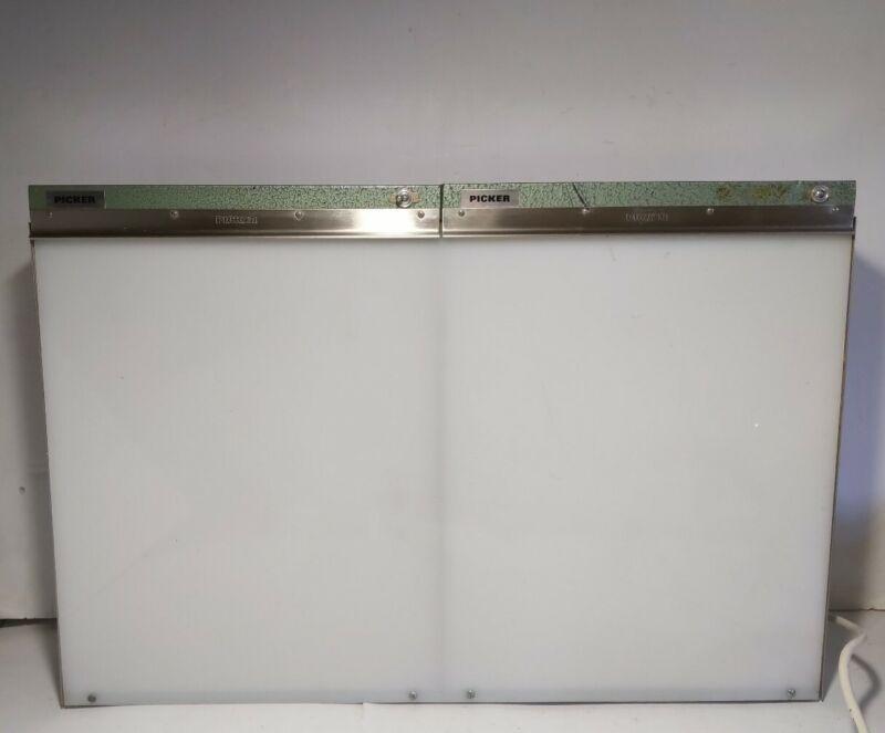 Picker 240097 Double Bank X-Ray Film Display/View Light Box Illuminator