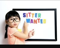 Seeking a baby sitter in Welland