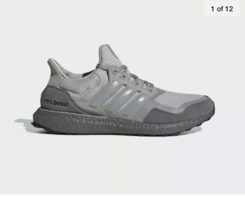Adidas Ultra Boost S&L Shoes – Grey/Light Granite – Men's Size 12 – (EF2026)