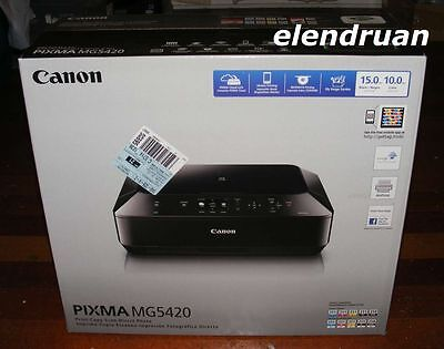 BRAND NEW Canon MG5420 Wireless All-In-One Inkjet Printer Sealed
