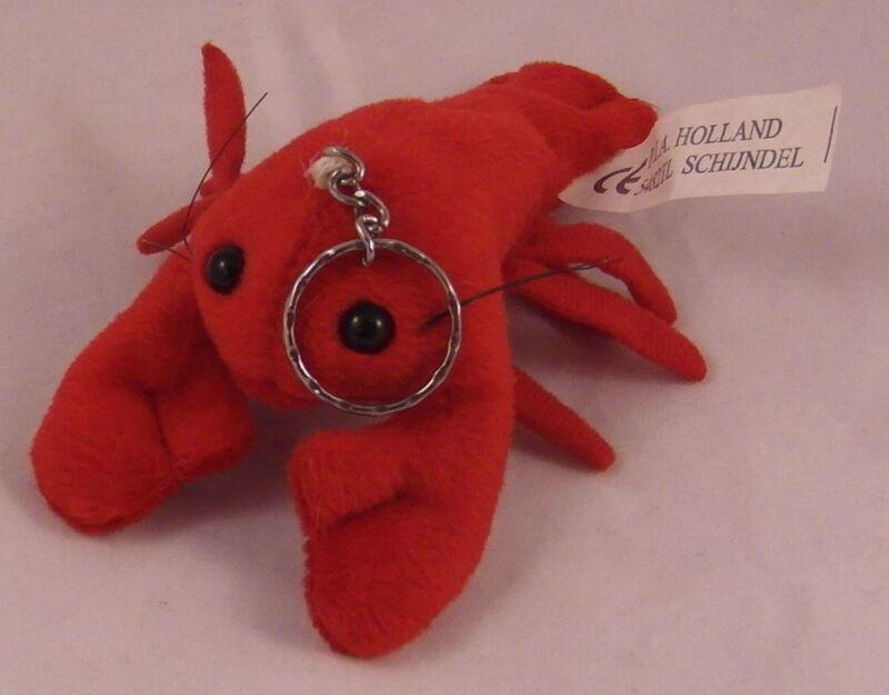 "6"" Plush Lobster Keychain Stuffed Animal"