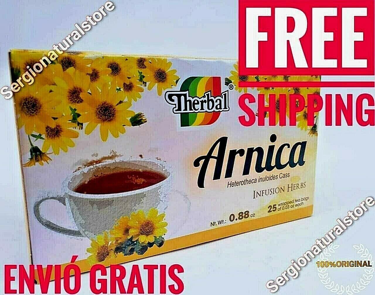 ARNICA TEA INFUSION ARNICA TEA 25 BAGS 1 G. EACH FREE SHIPPI