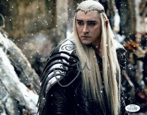 Lee Pace Signed Autographed 8x10 Photo THE LORD OF THE RINGS ACOA COA