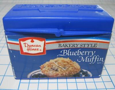 1980s VTG Fisher Price Fun With Food Toy Duncan Hines Blueberry Muffin MIX BOX Duncan Hines Muffin Mix