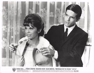 "Deborah Kerr, Dean Martin, ""Marriage on the Rocks"" (1965) Vintage Movie Still"