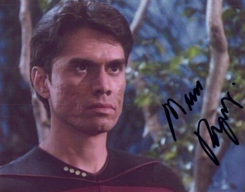 Marco Rodriguez Signed Autographed STAR TREK THE NEXT GENERATION COA