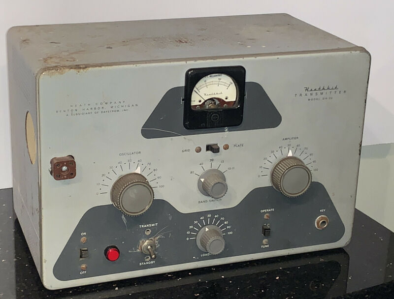 Vintage Heathkit Transmitter DX-20 Ham Short Wave Amateur Radio
