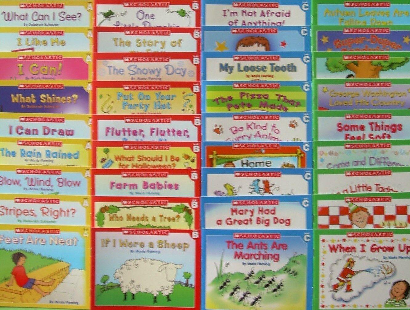 Lot 36 Learn to Read Children's Book Set Preschool Kindergarten Homeschool NEW