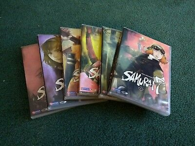 Akira Kurosawas Samurai 7 - Vol. 1-6 Episodes 1-23