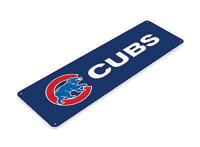 TIN SIGN Chicago Cubs 2016 Metal Décor Store World Champions Baseball B264