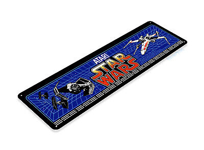 Star Wars Arcade Sign, Classic Arcade Game Marquee, Game Room Tin Sign C504