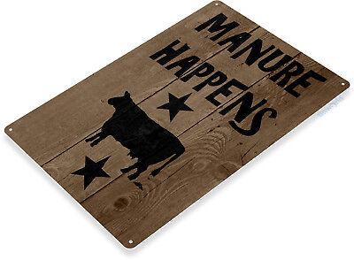 Cow Decor - TIN SIGN