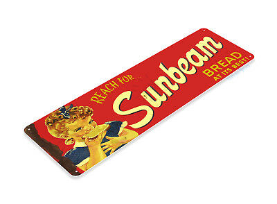 TIN SIGN Sunbeam Bread Vintage Design Décor Kitchen Farm Cottage Store A238