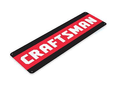 "TIN SIGN ""Craftsman"" Mechanic Power Tools Toolbox Garage Shop Shed Barn B099 #"