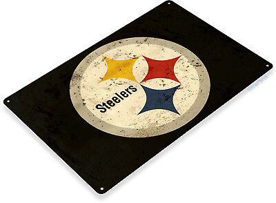 TIN SIGN Pittsburgh Steelers Football Metal Décor Art Sports Store Bar A572 - Pittsburgh Steelers Store