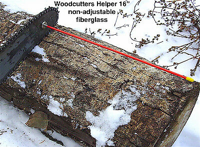 "Woodcutters Helper 16"" Non-adjustable Fiberglass Firewood Measuring Accessory"