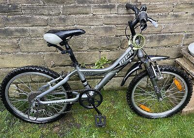 GTA MtX 125 Silver Boys Girls Bike 20in Wheels