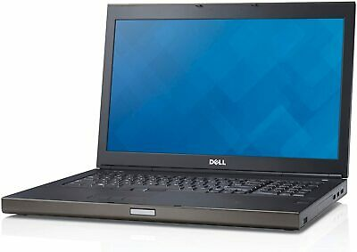 "Dell Precision M6800 17"" Laptop QUAD Core i7 480GB 16GB RAM K3100M 4GB GRAPHICS"