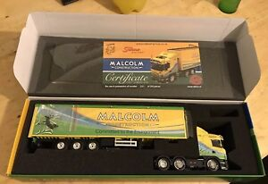 TEKNO 1/50 SCALE SCANIA HEAVY HAULAGE [WH MALCOLM CONSTRUCTION]