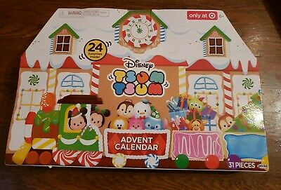 DISNEY TSUM TSUM ADVENT CALENDAR - TARGET EXCLUSIVE - 2017 - NEW In Box such fun