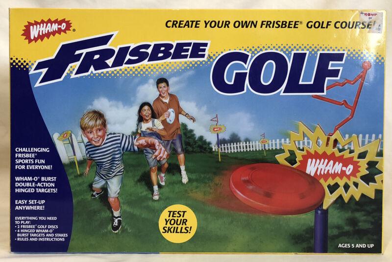 Wham-O Frisbee Golf Set - New/Sealed - 1998 Vintage Game