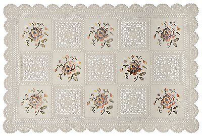 Vinyl Country Placemat - Country Style 1 pc Vinyl lace Placemats. 12