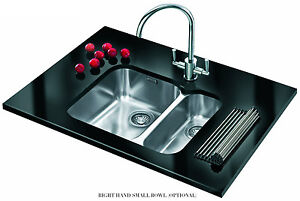 FRANKE ARX 160D STAINLESS STEEL UNDERMOUNT SINK , LOWEST UK PRICE ...