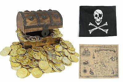 WellPackBox Wooden Treasure Chest (6.5