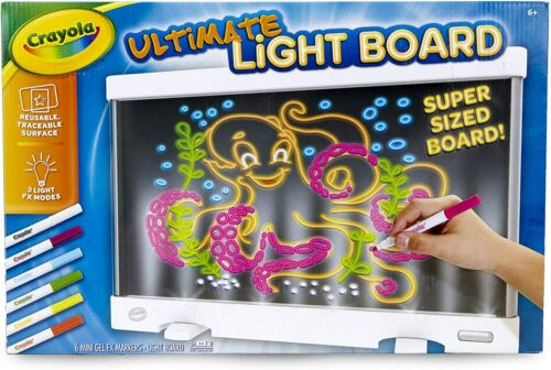 NEW Crayola Ultimate Light Board Drawing Tablet, Gift for Kids Age 6+