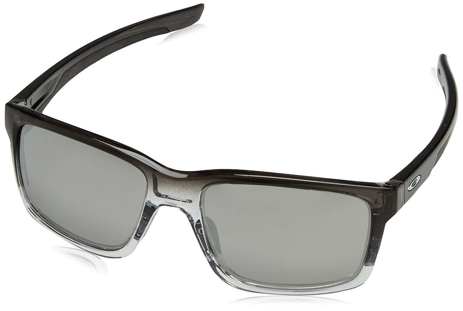 4b0db4a93b Details about Oakley Mainlink OO9264-13 Sunglasses Dark Ink Fade Chrome  Iridium Lens 9264 13