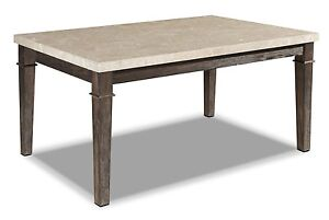 Spanish marble top dining table