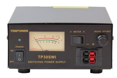 TekPower Analog Display TP30SWI 30 Amp DC 13.8V Switching Power Supply