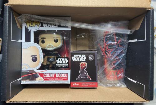 Funko Pop Count Dooku Star Wars 233 SMUGGLERS BOUNTY EXCL NO SHIRT READ DESC - $0.99