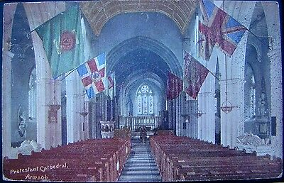POSTCARD:  PROTESTANT CATHEDRAL, ARMAGH