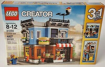 LEGO 31050 Creator (3-in-1) Corner Deli - 467 pcs - NEW & Sealed