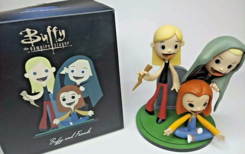 """Buffy the Vampire Slayer Artist Series """"Buffy and Friends"""" Collectible"""