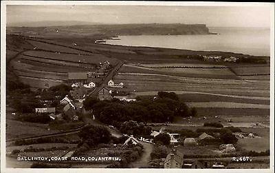 Ballintoy County Antrim Irland vintage postcard ~1950/60 Coast Road Küstenstraße