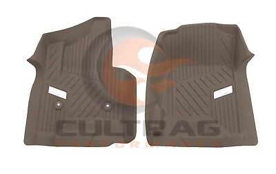2015-2019 Cadillac Escalade GM Front All Weather Floor Liners Dune 84203728