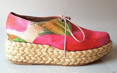 new $470 Robert Clergerie for Opening Ceremony small WEDGES platforms shoes 5.5