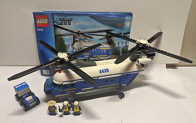 Lego City Police Heavy Duty Helicopter Set 4439 Complete
