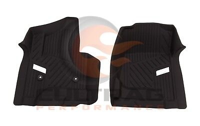 2015-2019 Cadillac Escalade GM Front All Weather Floor Liners Black 84203727