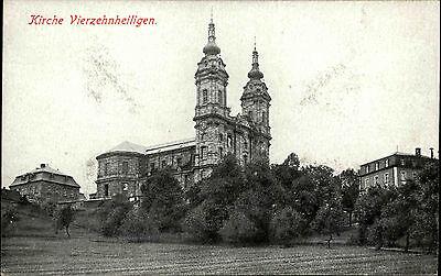 Bad Staffelstein Bayern Oberfranken AK ~1910 Basilika Vierzehnheiligen Wallfahrt