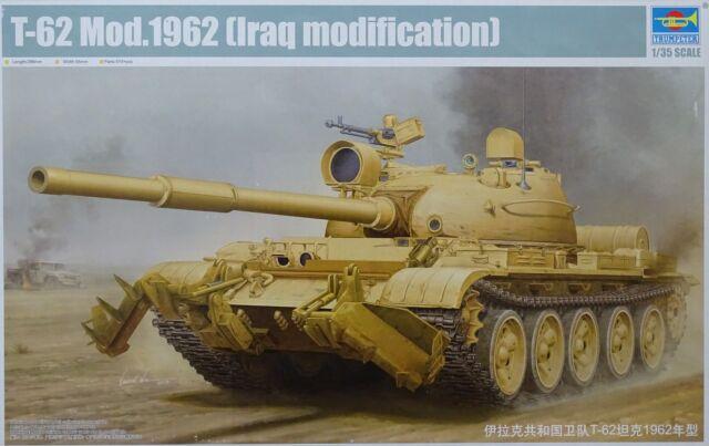 TRUMPETER® 01547 T-62 Model 1962 (Iraq Modification) in 1:35