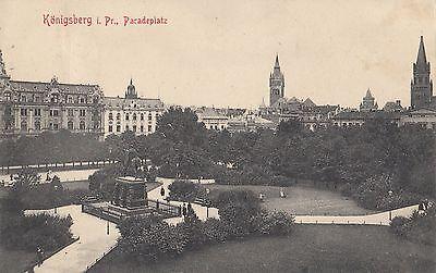 AK Königsberg i. Pr. Paradeplatz, 1906