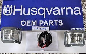 Genuine OEM  Husqvarna 539131805 Headlight Kit for ZTR RZT Zero Turn Mowers