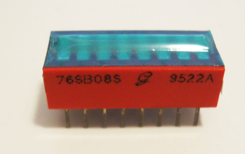 NEW GRAYHILL 8 POSITION DIP SWITCH # 76SB08S